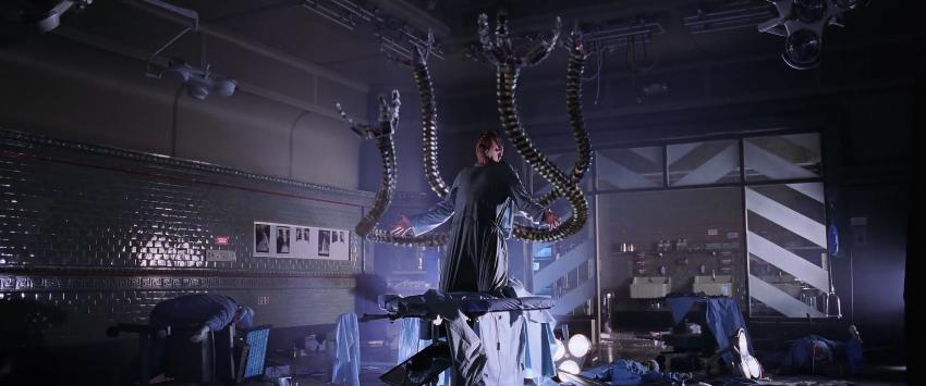 実験の失敗、ドクターオクトパスの誕生