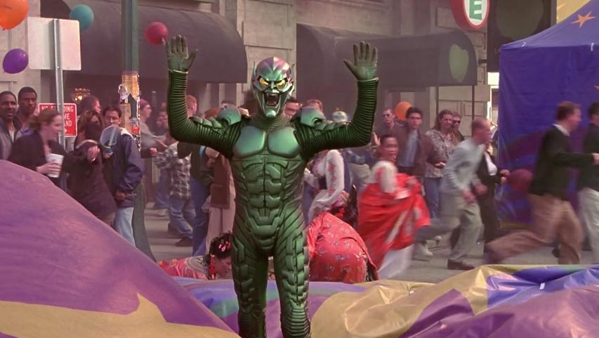 初めてのグリーンゴブリン戦はスパイダーマン優勢