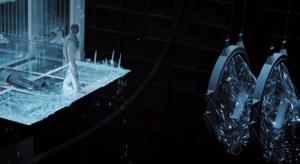 マグニートーがウルヴァリンの秘密を明かす。アダマンチウムの骨格はストライカーの実験によるものだった